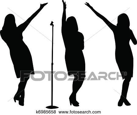 Singer Clip Art Vector Graphics. 22,728 singer EPS clipart vector ...