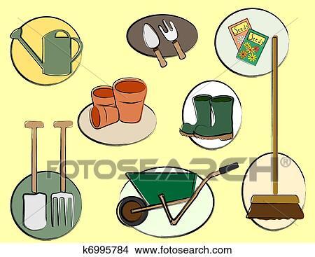 Sketch jardinage au