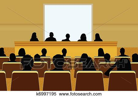 Clip Art Conference Clipart conference clipart royalty free 12076 clip art vector a person doing presentation at business or product marketing in front of crowd to audience add your copy text on