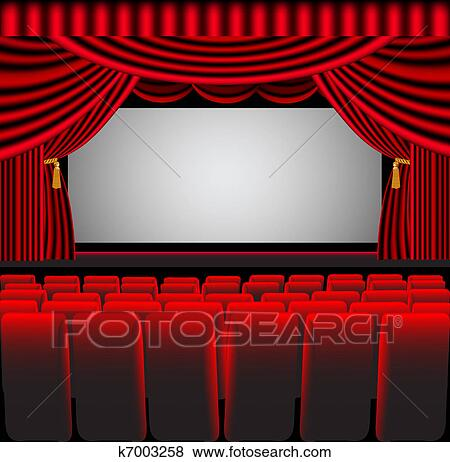 Movie Theatre Screen Clipart | www.pixshark.com - Images ...