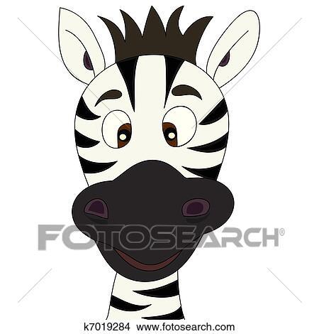 Clipart zebra cartone animato k7019284 cerca clipart - Cartone animato immagini immagini fantasma immagini ...