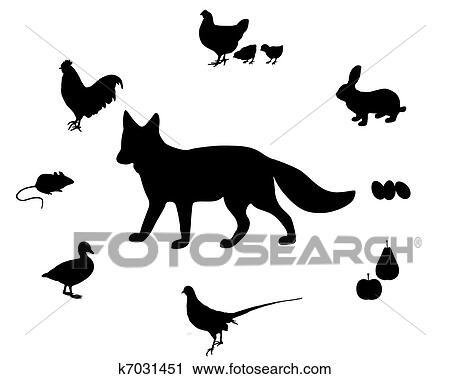 Clipart renard r gime k7031451 recherchez des clip arts des illustrations des dessins et - Clipart renard ...