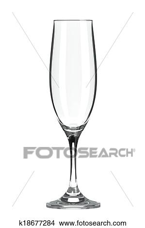 Drawings of Champagne Flute Glass k18677284 - Search Clip Art ...