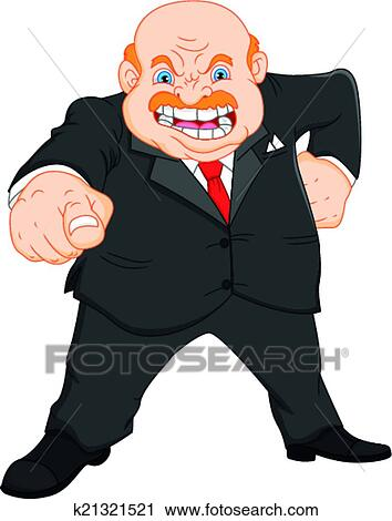 angry manager clipart - photo #42
