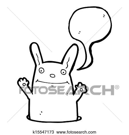 Fotosearch - search clipart, illustration, fine art prints, and eps vector graphics images cartoon rabbit in hole