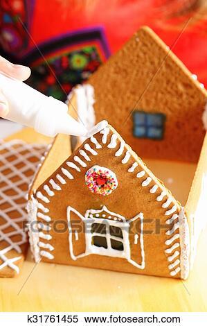 пряничный домик рецепт с фото пошагово