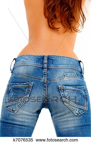 девчонка в джинсах фото