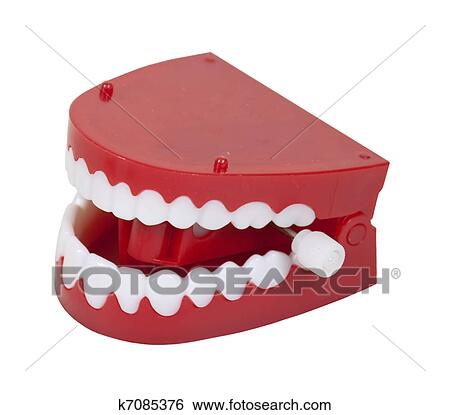 Stock Images of Fake Chattering Teeth k7085376 - Search ...