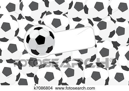 手绘图 - 足球, 描述图片