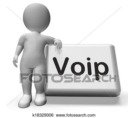 Voice Over Internet Protocol Clip Art