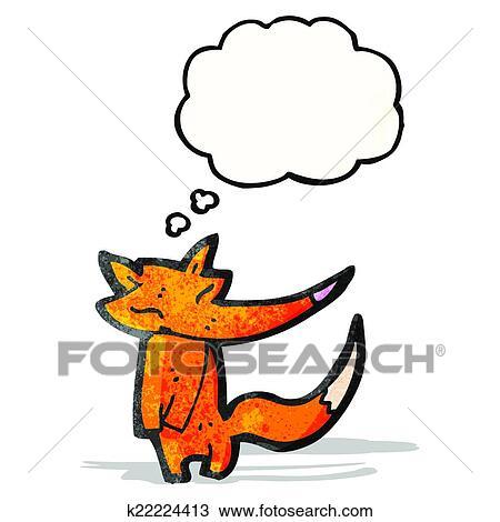 Clipart dessin anim renard k22224413 recherchez des - Clipart renard ...