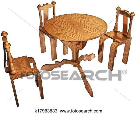 手绘图 - 桌子