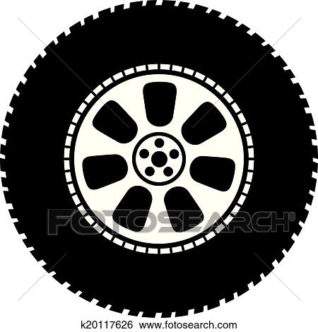 clip art of wheel vector tyre k20117626 search clipart auto mechanics clip art free auto mechanics clip art images