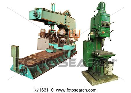 Stock Photography of big squeezing machine k7163110 - Search Stock ...