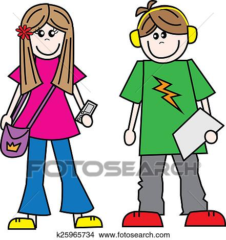 Teen Illustrations And Clip Art 9