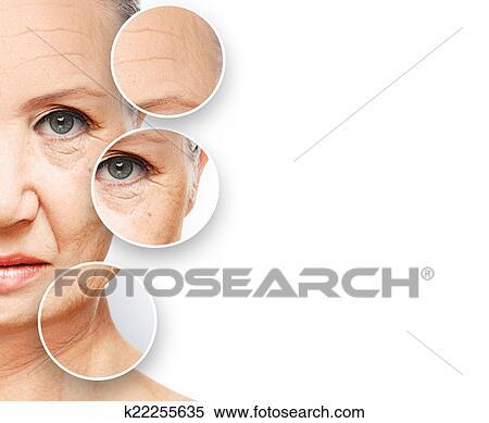 I pacchi di faccia assorbenti