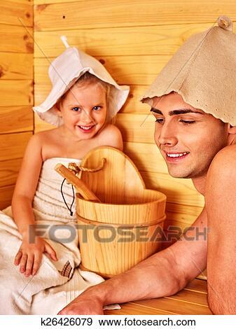 фото мама моет сына в бане