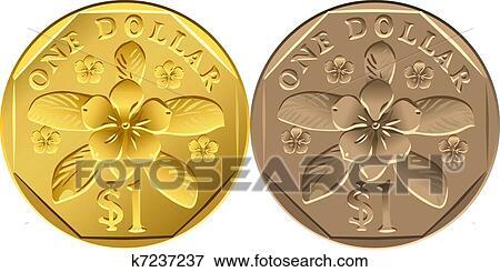 Singapore Money Coins Singapore Money Coin One