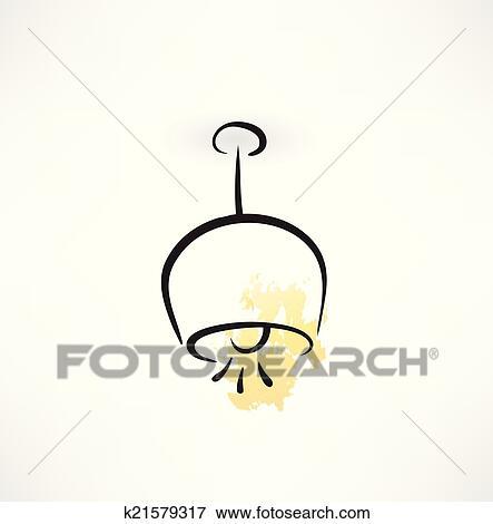 Deckenlampe clipart  Clip Art - decke lampe, symbol k21579317 - Suche Clipart, Poster ...