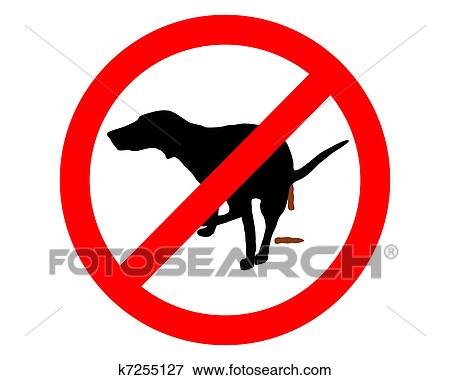 clip art of traffic sign it s forbidden for dogs to take a dump rh fotosearch com traffic clipart black and white traffic clipart