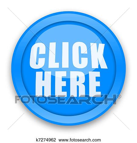 Clip Art of Click Here Button k7274962 - Search Clipart ...