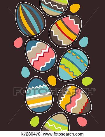 蛋盒画画图片