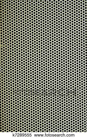 stock bild wei metallplatte mit viele klein. Black Bedroom Furniture Sets. Home Design Ideas
