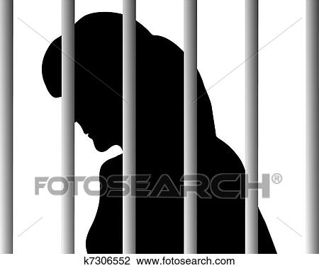 Behind bars Clipart EPS Images. 324 behind bars clip art vector ...