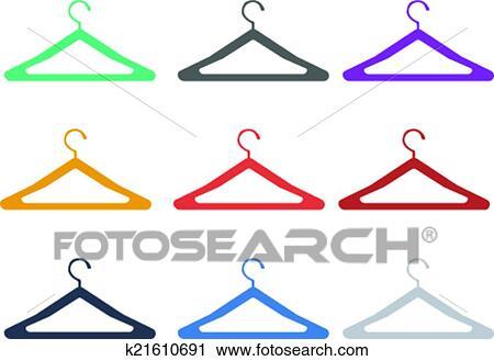 Kleiderständer clipart  Clipart - kleiderständer k21610691 - Suche Clip Art, Illustration ...