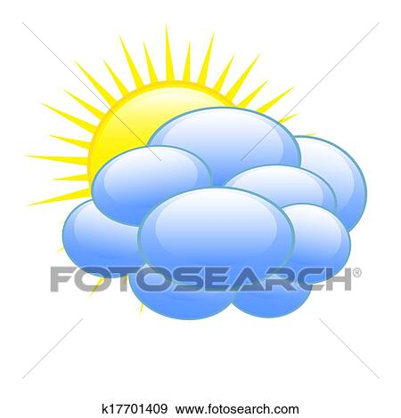 clip art of weather forecast icon k17701409 search clipart rh fotosearch com