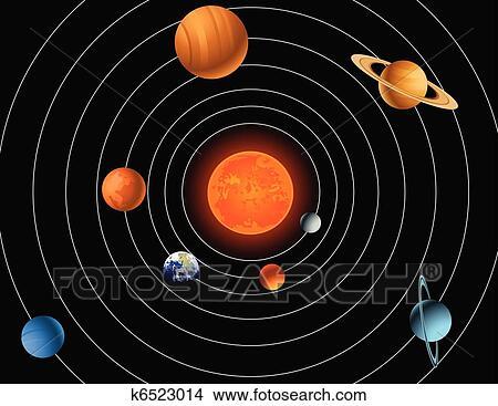 solar system sketch - photo #21