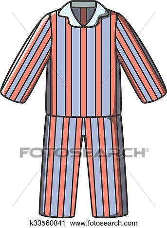 clipart of pajamas doodle vector k33560841 search clip art rh fotosearch com clipart woman in pajamas christmas pajamas clipart