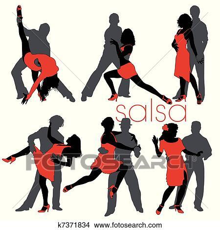 Flirten beim tanzen