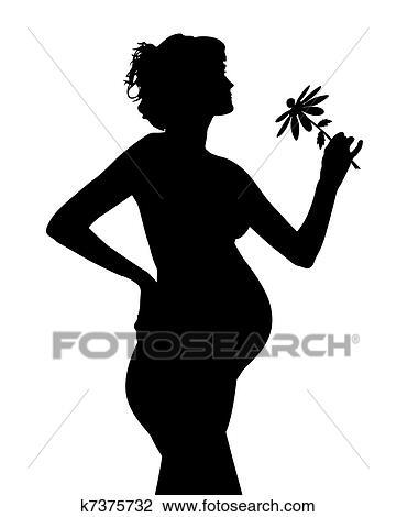 Фотографии черно белые девушек беременных 19 фотография