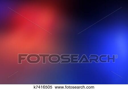 Stock image of police car light bar background k7416505 search blurred red and blue lights of police car light bar aloadofball Choice Image