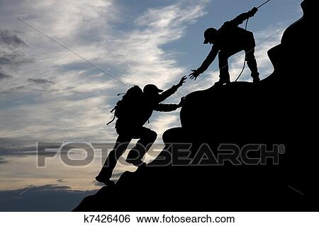 Mountain climbing Illustrations and Clipart. 1,956 mountain ...