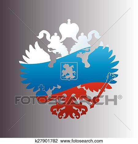 The Coat of Arms of Russia, vector graphics - 365PSD.com