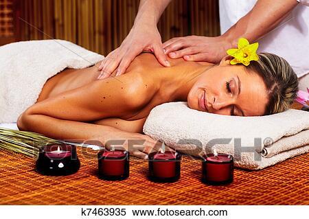 русский фото массаж