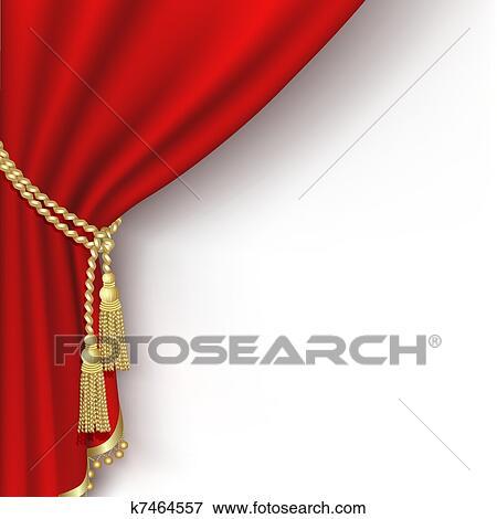 clipart rideau rouge k7464557 recherchez des cliparts des illustrations des dessins et des. Black Bedroom Furniture Sets. Home Design Ideas