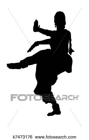 Stock Illustration of Folk dancers k7473176 - Search Clip ...