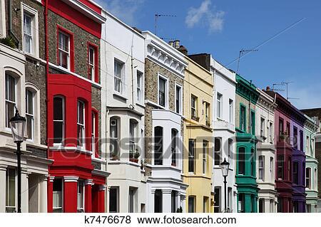 Immagini notting collina colorito case a portobello for La collina london