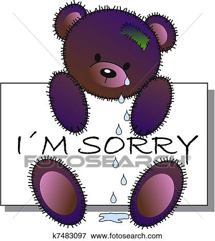 Clip Art Sorry Clipart sorry clipart and illustration 1275 clip art vector eps im sorry