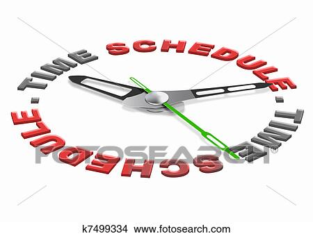 Graphical Daily Schedule