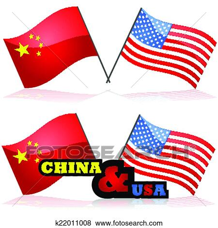 clip art of china and the united states k22011008 search clipart rh fotosearch com united states clipart black and white united states clip art free