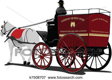 Horse driven cab изображений spiderpic royalty free stock photos