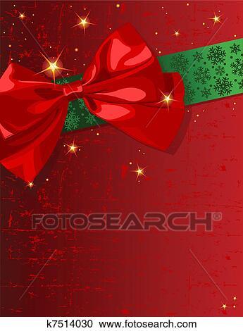 clipart weihnachten schleife k7514030 suche clip art. Black Bedroom Furniture Sets. Home Design Ideas