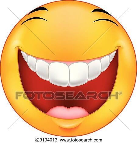 Clipart rire smiley dessin anim k23194013 recherchez des clip arts des illustrations - Dessins de smiley ...