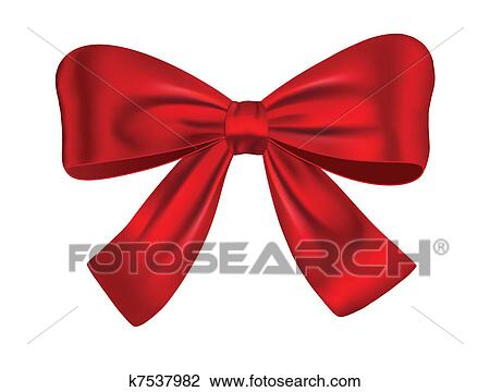 Clipart of red gift bow k7537982 search clip art illustration clipart red gift bow fotosearch search clip art illustration murals drawings negle Image collections