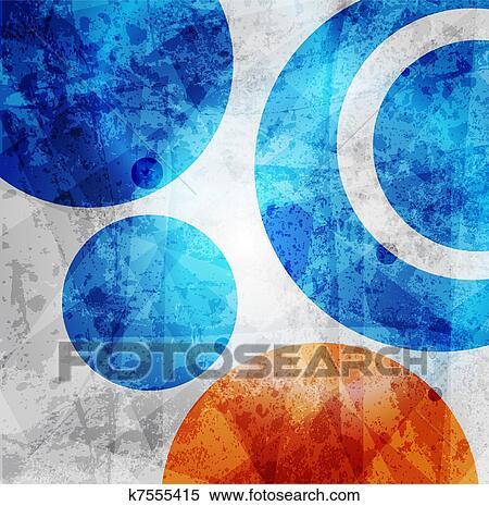 Clipart abstracte high tech grafisch ontwerp cirkels motieven achtergrond k7555415 zoek - Behang grafisch ontwerp ...