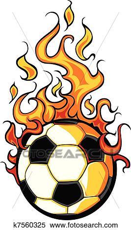 小学生足球卡通画